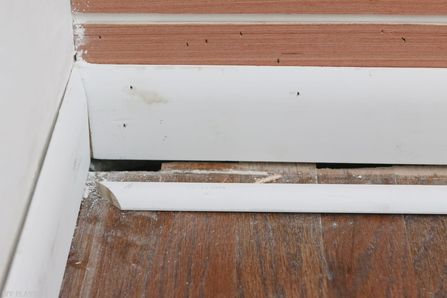 Scarf Joint Baseboard
